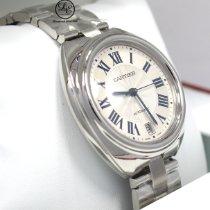 Cartier Clé de Cartier Acero 35mm Plata Romanos