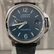 Panerai Luminor Marina Automatic Acier Bleu France, Toulon
