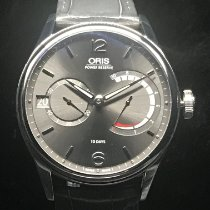 Oris Artelier Calibre 111 Steel 43mm Grey Arabic numerals
