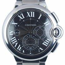 Cartier Ballon Bleu 44mm pre-owned 44mm White Date Steel