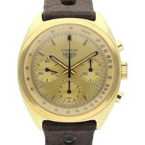 Heuer Yellow gold 38.5mm Manual winding 7736 pre-owned United States of America, California, Los Angeles