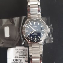 Oris Aquis Date Steel 43.5mm Blue No numerals United States of America, Florida, Oviedo