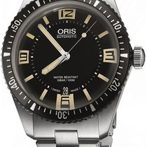 Oris Divers Sixty Five 01 733 7707 4064-07 8 20 18 New Steel 40mm Automatic