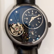 Maurice Lacroix Masterpiece Gravity Steel Black