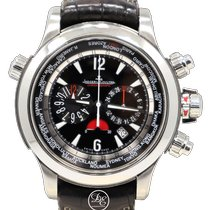 Jaeger-LeCoultre Master Compressor Extreme World Chronograph Steel 46.3mm Black Arabic numerals United States of America, Florida, Boca Raton