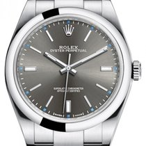 Rolex Oyster Perpetual 39 Steel 39mm Grey No numerals United States of America, New York, New York