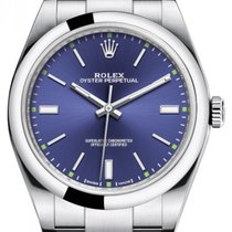 Rolex Oyster Perpetual 39 Steel 39mm Blue No numerals United States of America, New York, New York