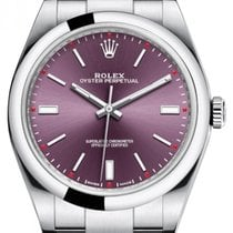 Rolex Oyster Perpetual 39 Steel 39mm Purple No numerals United States of America, New York, New York