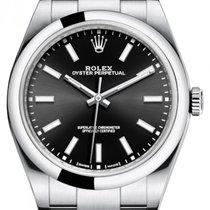 Rolex Oyster Perpetual 39 nouveau 2020 Remontage automatique Montre avec coffret d'origine et papiers d'origine 114300