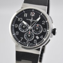 Ulysse Nardin Marine Chronograph Steel 43mm Black Arabic numerals United States of America, Ohio, Mason