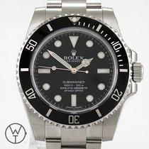 Rolex Submariner (No Date) neu 2013 Automatik Uhr mit Original-Box und Original-Papieren 114060