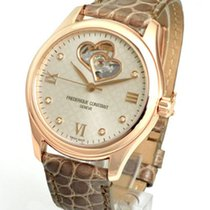 Frederique Constant FC-310LGDHB3B4 Gold/Steel Ladies Automatic Double Heart Beat 36mm new