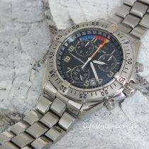 Breitling Transocean Chronograph Stahl 41mm Schwarz Arabisch Deutschland, Castrop-Rauxel
