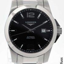Longines Conquest Classic Acier 41mm Noir
