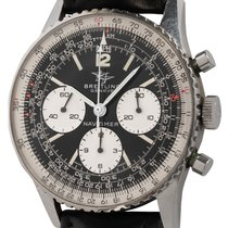 Breitling Navitimer pre-owned 42mm Black Chronograph Leather