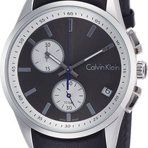 ck Calvin Klein Steel 45mm Quartz k5a371c3 new