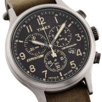 Timex Stål 42mm Kvarts TW4B04100E ny