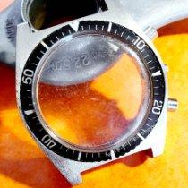 Yantar WATCH PART CASE CHRONOGRAPH 36MM BEZEL & PUSHERS 1970 gebraucht