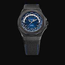 Girard Perregaux Laureato Titan 44mm Blau Arabisch