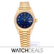 Rolex Geelgoud Automatisch Goud Geen cijfers 26mm tweedehands Lady-Datejust