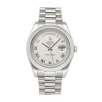 Rolex 218206 Platinum Day-Date II 41mm pre-owned United States of America, Pennsylvania, Bala Cynwyd