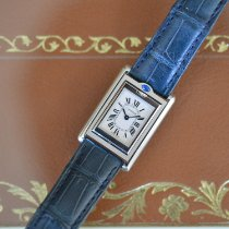 Cartier Tank (submodel) neu Quarz Uhr mit Original-Box und Original-Papieren W1011158