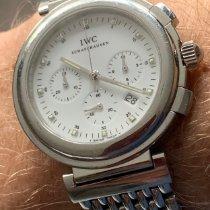 IWC Da Vinci Chronograph подержанные Белый Сталь