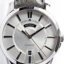 Maurice Lacroix Pontos Day Date Stahl 40mm Silber Deutschland, Herford