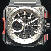 Bell & Ross Titane 45mm Remontage automatique Bell&Ross BR-X1CET TIT Limited Edition XXX/250 chronograph nouveau