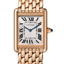 Cartier Tank Louis Cartier Rose gold 33.7mm Silver