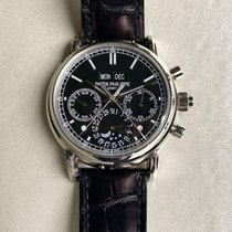 Patek Philippe Platinum Manual winding Black 40mm new Perpetual Calendar Chronograph