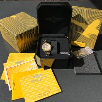 Breitling Cockpit Lady Gold/Steel 31mm Mother of pearl Roman numerals