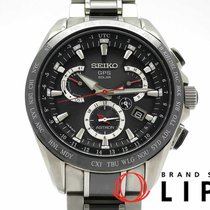 Seiko Astron GPS Solar Ceramic 45mm Black