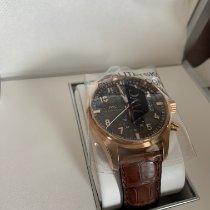 IWC Pilot Spitfire Chronograph Or rose 43mm Gris Arabes France, Chx