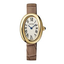 Cartier Baignoire Yellow gold 32mm Silver United States of America, New York, New York