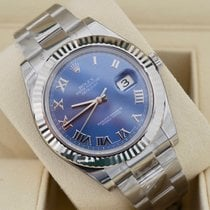 Rolex Datejust II Steel 41mm Blue No numerals United States of America, Virginia, Arlington