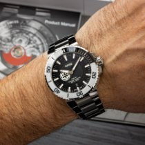 Oris Aquis Steel 43.5mm Black No numerals United States of America, Texas, Austin