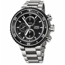 Oris 01 774 7727 7154-SET Titanium 2021 ProDiver Chronograph 51mm new