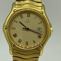 Ebel Sport ikinci el 31mm Şampanya rengi Sarı altın