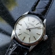 Rolex Oyster Precision Staal 30mm Zilver