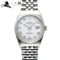 Rolex Datejust Steel 36mm White