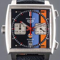 TAG Heuer Monaco Calibre 11 neu 2021 Automatik Chronograph Uhr mit Original-Box und Original-Papieren CAW211R.FC6401