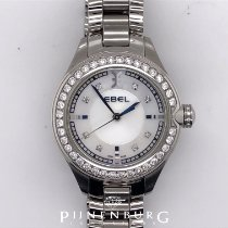 Ebel pre-owned Quartz 30mm Mother of pearl Sapphire crystal 5 ATM