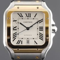 Cartier new Automatic 40mm Gold/Steel Sapphire crystal