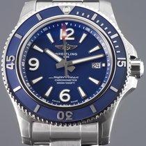 Breitling Superocean 44 nuevo 2020 Automático Reloj con estuche y documentos originales A17367D81C1A1