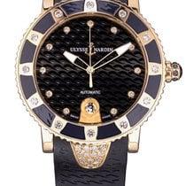 Ulysse Nardin Lady Diver Rose gold 40mm Brown