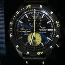 Vostok Titanio Cuarzo Azul Sin cifras 47mm nuevo