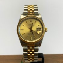 Rolex 15053 Gold/Steel 1988 Oyster Perpetual Date 34mm pre-owned United States of America, California, Marina Del Rey