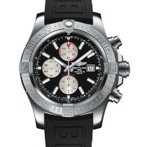 Breitling Super Avenger II Steel 48mm Black No numerals United States of America, New Jersey, Princeton