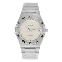 Omega Constellation pre-owned 34mm White Steel